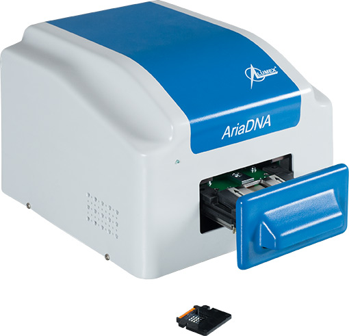 Microchip based Real Time PCR analyzer AriaDNA, pcr system