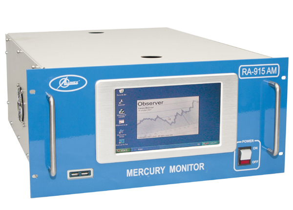 Monitor de mercúrio RA-915AM price